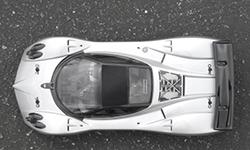 Кузов 1/10 Pagani Zonda F, неокрашенный. Колёсная база 255 мм. Ширина шасси 200 мм (HPI Racing, HPI17523)