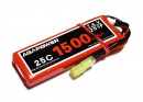 Аккумулятор AGA POWER Li-Po 1500mAh 7.4V 2S 25C Softcase 16x35x92мм Mini Tamiya