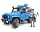 Атвомодель Bruder Land Rover Defender 1:16 (полиция)