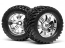 Mounted Goliath Tire/Tremor Wheel Chrome HPI4728 (2)