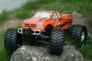 Автомобиль Thunder Tiger MTA-4 S28 Nitro PRO Monster 1/8 558 мм 4WD 2.4GHz RTR Orange
