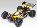 Багги Thunder Tiger Sparrowhawk XXB Brushless 1:10 435 мм 4WD 3CH 2.4GHz RTR Black/Yellow