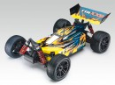 Багги Thunder Tiger Sparrowhawk XXB Brushless 1:10 435 мм 4WD 3CH 2.4GHz RTR Blue/Yellow