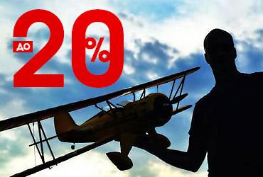 Время летать! Скидки на самолеты до 20%!