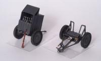 Сборная модель Звезда немецкий 120-мм миномёт с расчётом и зарядным ящиком 1:35