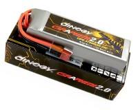 Аккумулятор Dinogy G2.0 Li-Pol 3700mAh 14.8V 4S 70C T-Plug