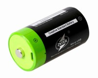Аккумулятор Znter 1.5V 3000mAh C Size USB Rechargeable LiPoly Battery (2 шт)