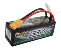 Аккумулятор Gens Ace LiPo 14,8В 5500мАч 4S 50C XT90 (B-50C-5500-4S1P-HardCase-14)