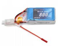 Аккумулятор Gens Ace Li-PO 11,1 В 800 мАч 40C (B-40C-800-3S1P)