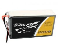 Аккумулятор Tattu LiPO 22,2 В 28000 мАч 6S 25C (TA-25C-28000-6S1P)