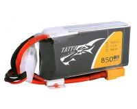 Аккумулятор Tattu LiPO 11,1 B 850 мАч 3S 75C (TA-75C-850-3S1P-XT30)