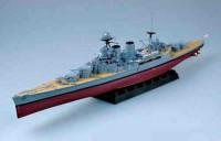 Сборная модель Звезда английский линкор «Худ» 1/720