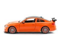 Коллекционный автомобиль Maisto BMW M4 GTS 1:24 оранжевый металлик