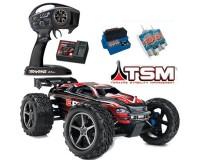 Автомобиль Traxxas E-Revo Monster 1:10 RTR 582 мм 4WD 2,4 ГГц со стабилизацией TSM (56036-4 Red)
