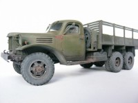 Сборная модель Звезда грузовик «ЗиС-151» 1:35 (подарочный набор)