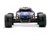 Автомобиль Traxxas Rustler VLX Brushless Stadium Truck 1:10 RTR 445 мм 2WD 2,4 ГГц (37076-3 Blue)