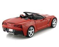 Коллекционный автомобиль Maisto Corvette Stingray Convertible 1:24  (красный)
