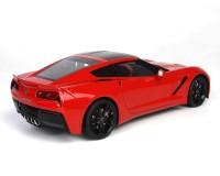 Коллекционный автомобиль Maisto Corvette Stingray Coupe 1:24 (красный металлик)