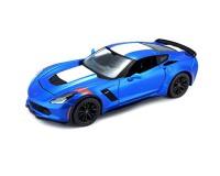 Коллекционный автомобиль Maisto Corvette Grand Sport 1:24 (синий металлик)