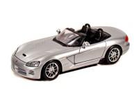 Коллекционный автомобиль Maisto Dodge Viper SRT-10 1:24 (серебристый)