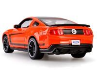 Коллекционый автомобиль Maisto Ford Mustang  Boss 302 1:24 (оражевый)