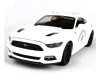Коллекционный автомобиль Maisto Ford Mustang GT тюнинг 1:24 (белый)