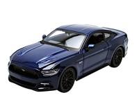 Коллекционный автомобиль Maisto Ford Mustang GT 1:24 (синий)