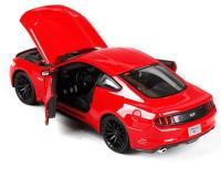 Коллекционный автомобиль Maisto Ford Mustang GT 1:24 (красный)