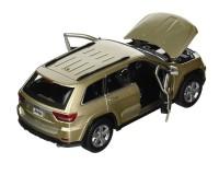 Коллекционный автомобиль Maisto Jeep Grand Cherokee 2011 1:24 (золотистый)