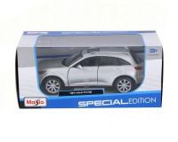 Коллекционный автомобиль Maisto Infiniti  FX45 1:24 (серебристый)