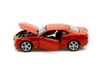 Коллекционный автомобиль Maisto Chevrolet Camaro SS RS 1:24(оранжевый металлик)