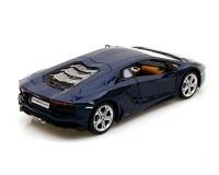 Коллекционный автомобиль Lamborghini Aventador LP700-4 1:24 (синий металлик)
