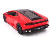 Коллекционный автомобиль Maisto Lamborghini Huracan LP 610-4 1:24 (красный)
