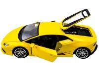 Коллекционный автомобиль Мaisto Lamborghini  Huracan LP 610-4 1:24 (жёлтый)