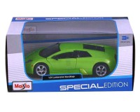 Коллекционный автомобиль Maisto Lamborghini Murcielago 1:24 (зелёный металлик)