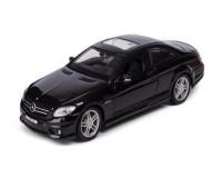 коллекционный автомобиль Maisto Mercedes-Benz CL63 AMG 1:24 (чёрный металлик)
