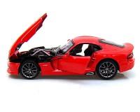 Коллекционный автомобиль Maisto SRT Dodge Viper GTS 1:24 (красный)