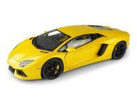 Коллекционный автомобиль Maisto Lamborghini Aventador LP700-4 тюнинг 1:24 (жёлтый)