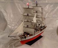 Сборная модель Звезда барк