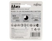 Аккумулятор Fujitsu AA 1900mAh NiMh в блистере, 4 шт