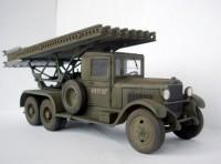 Сборная модель Звезда гвардейский реактивный миномёт БМ-13 «Катюша» 1:35