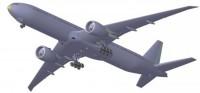 Сборная модель Звезда пассажирский авиалайнер «Боинг 777-300» 1:144