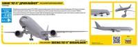 Сборная модель Звезда пассажирский авиалайнер Боинг 787-9 «Дримлайнер» 1:144