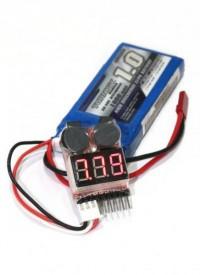 Бортовой индикатор разряда батареи (1-8S)