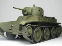 Сборная модель Звезда советский лёгкий танк «БТ-5» 1:35