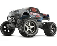 Автомобиль Traxxas Stampede Brushless Monster 1:10 RTR 500 мм 4WD 2,4 ГГц (67086-3 Silver)