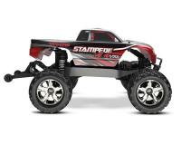 Монстр Traxxas Stampede Brushless 1:10 ARTR 500 мм 4WD TSM 2,4 ГГц (67086-4 Black)