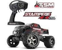 Монстр Traxxas Stampede Brushless 1:10 ARTR 500 мм 4WD TSM 2,4 ГГц (67086-4 Red)