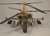 Сборная модель Звезда российский ударный вертолёт «Чёрная акула» Ка-50 1:72