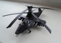 Сборная модель Звезда российский вертолёт-невидимка «Ка-58» Чёрный призрак 1:72